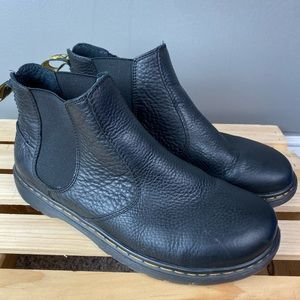 Dr. Martin black slip on ankle boots Air Wair